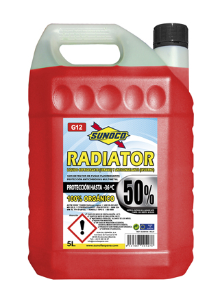 RADIATOR COOLANT G12 50% ORG