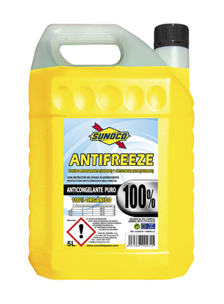 RADIATOR COOLANT PURE 100% - ORG
