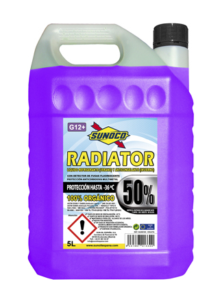 RADIATOR COOLANT G12+ 50% ORG