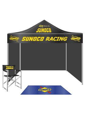 Tent and Sunoco Accessories